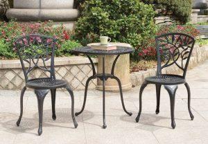 Nicolette Bistro Set #outdoorfurniture #patio #outdoorliving