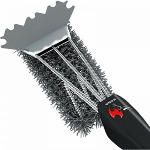 Safe Grill Cleaning Brush #grilling #BBQ #outdoorliving