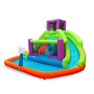 Inflatable Water Slide #backyard #toddler #toys #OutDoorPlay #SummerFun #SummerPlaytime