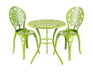 Lemus Bistro Set #OutDoorFurniture #Patio #OutDoorLiving #OutDoorSpaces #PatioDining #Deck #Balcony