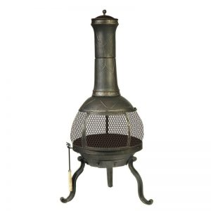 Nyora Chiminea #FirePit #OutdoorLiving #Patio #OutdoorSpaces