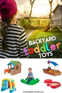 Toddler Toys for the Backyard #backyard #toddler #toys #outdoorplay