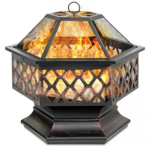 Twomey Steel fire pit #FirePit #OutdoorLiving #Patio #OutdoorSpaces