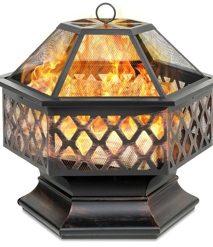 Wood-Burning Fire Pits for Your Patio