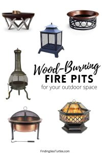 Wood Burning Fire Pits #firepits #outdoorliving #patio