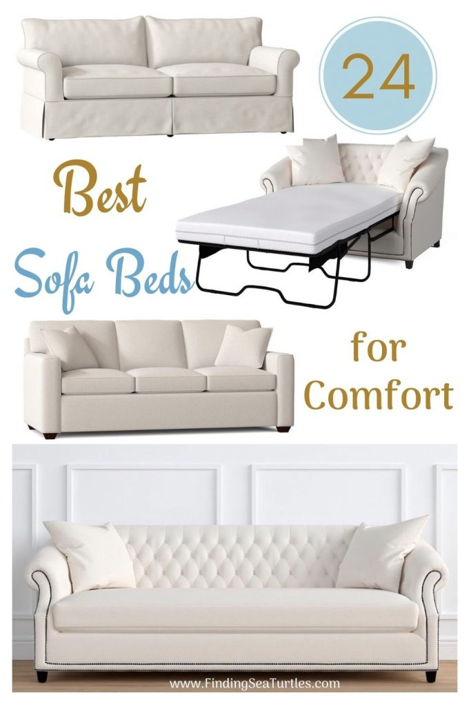 24 Best Sofa Beds for Comfort #SleeperSofa #OvernightGuests #GuestRoom #SofaBed #FamilySleepovers #CompanyIsComing