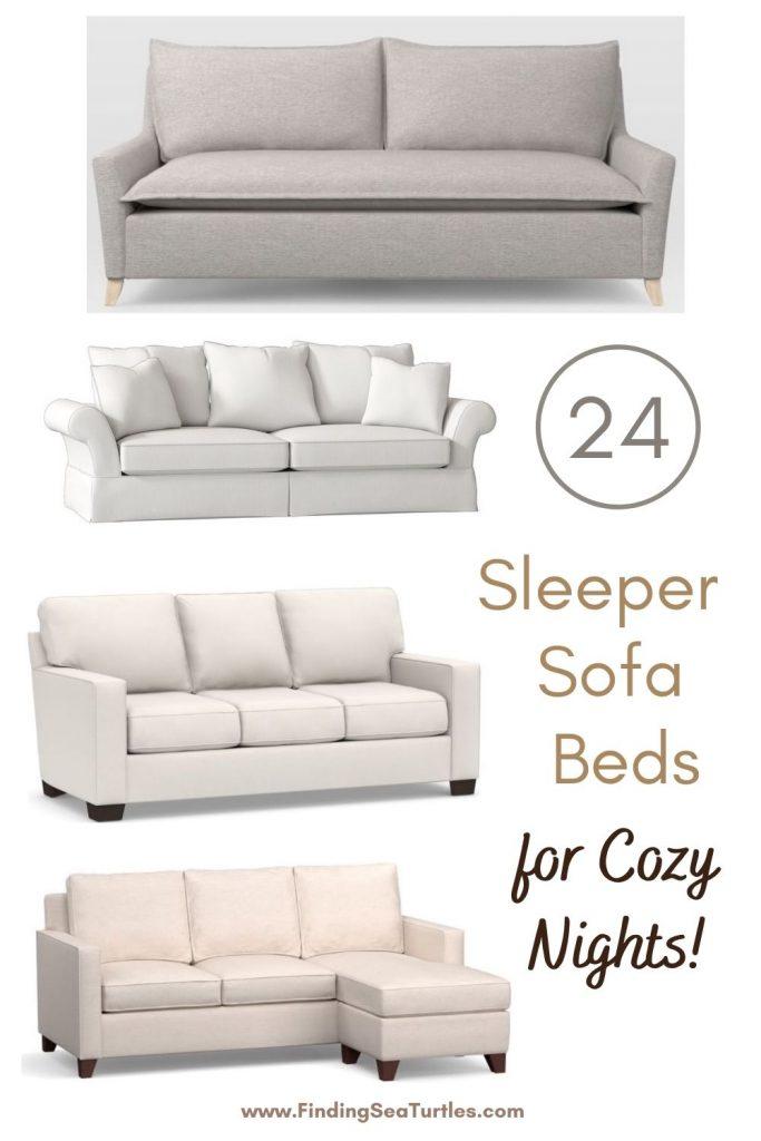 24 Sleeper Sofa Beds for Cozy Nights #SleeperSofa #OvernightGuests #GuestRoom #SofaBed #FamilySleepovers #CompanyIsComing