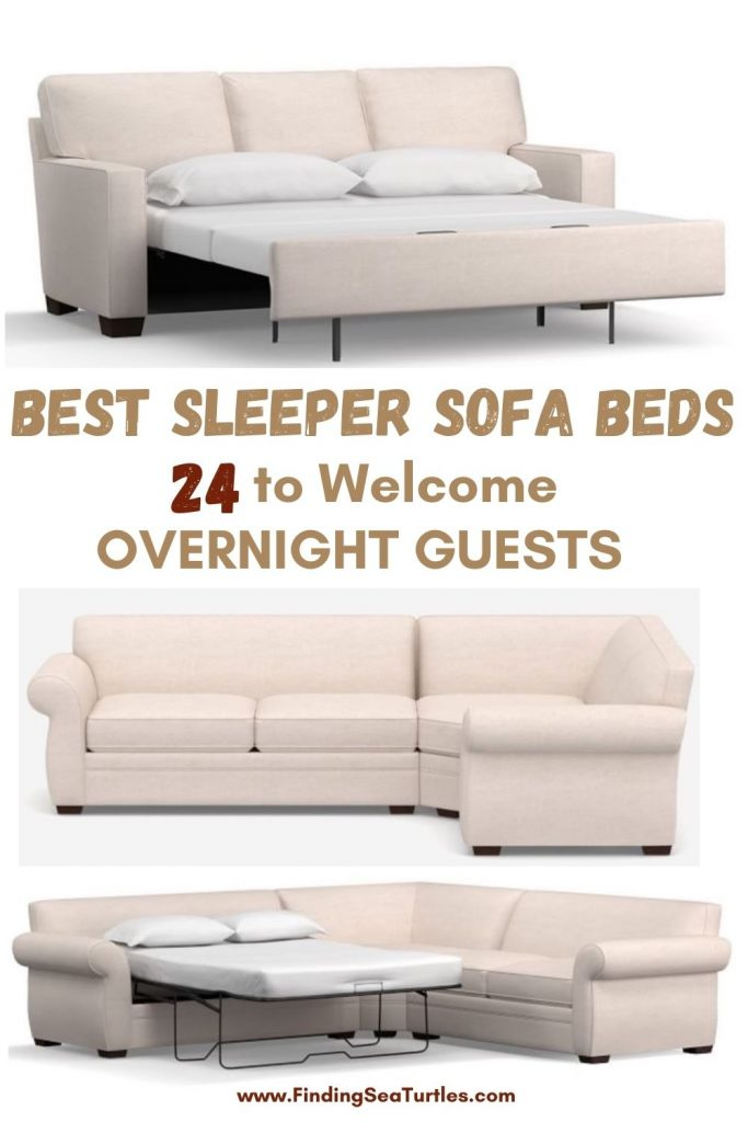 BEST SLEEPER SOFA BEDS 24 to Welcome Overnight Guests #SleeperSofa #OvernightGuests #GuestRoom #SofaBed #FamilySleepovers #CompanyIsComing