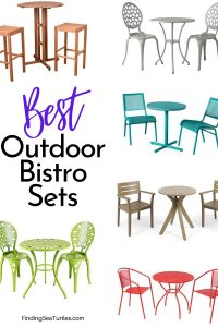 Best Bistro Sets for your Patio #outdoorfurniture #patio #outdoorliving