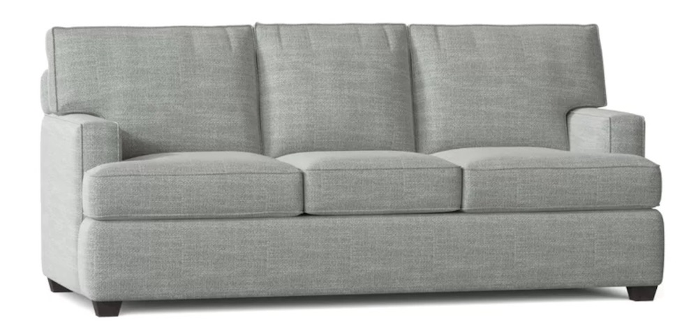 Stay Comfy in the Clarkedale Square Arm Sofa #SleeperSofa #OvernightGuests #GuestRoom #SofaBed #FamilySleepovers #CompanyIsComing