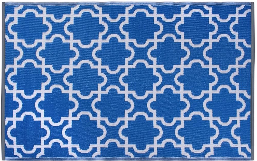 Moroccan Indoor and Outdoor Lightweight Reversible Rug #Patio #Porch #Balcony #OutdoorSpace #PatioRefresh #Decor #PatioDecor #PatioRugs #PorchRugs #OutdoorRugs