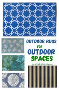 Outdoor Rugs for Outdoor Spaces #Patio #Porch #Balcony #OutdoorSpace #PatioRefresh #Decor #PatioDecor #PatioRugs #PorchRugs #OutdoorRugs