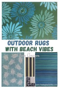 Outdoor Rugs with Beach Vibes from Amazon #Patio #Porch #Balcony #OutdoorSpace #PatioRefresh #Decor #PatioDecor #PatioRugs #PorchRugs #OutdoorRugs