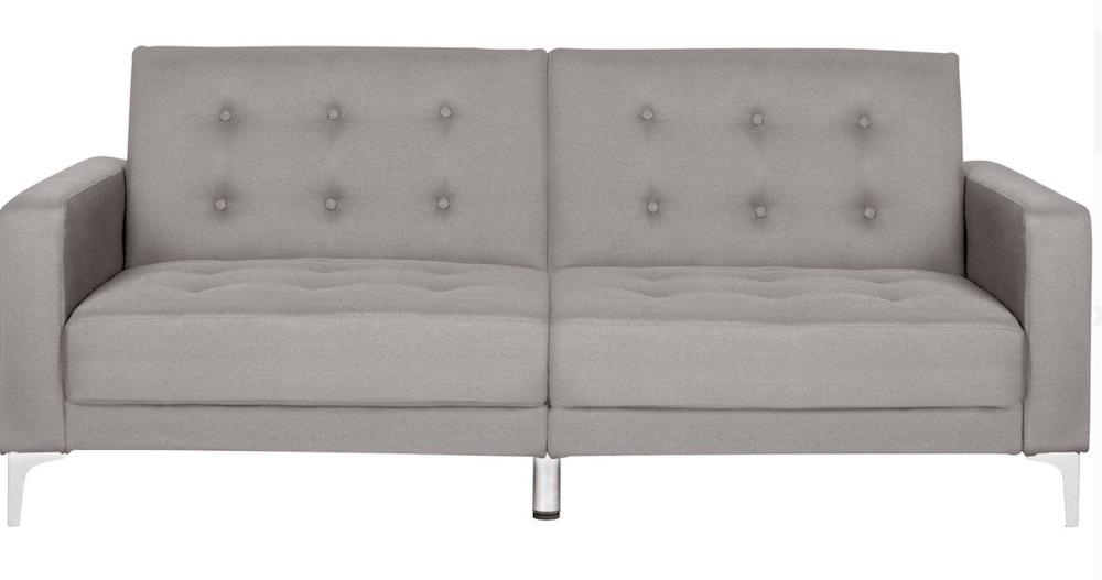 A Comfortable Sleep Safavieh Soho Sofa #SleeperSofa #OvernightGuests #GuestRoom #SofaBed #FamilySleepovers #CompanyIsComing