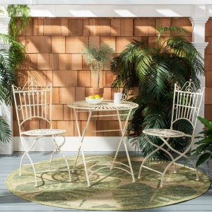 Della Bistro Set #OutDoorFurniture #Patio #OutDoorLiving #OutDoorSpaces #PatioDining #Deck #Balcony