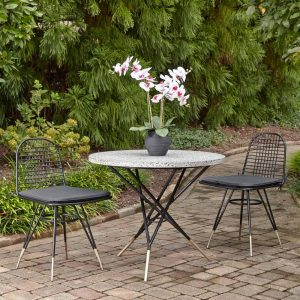 Du Jour Bistro Set #OutDoorFurniture #Patio #OutDoorLiving #OutDoorSpaces #PatioDining #Deck #Balcony