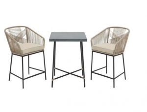 Haymont Bistro Set #OutDoorFurniture #Patio #OutDoorLiving #OutDoorSpaces #PatioDining #Deck #Balcony