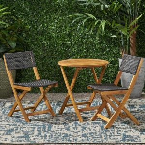 Hillside Bistro Set #OutDoorFurniture #Patio #OutDoorLiving #OutDoorSpaces #PatioDining #Deck #Balcony