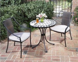 Best Outdoor Bistro Sets: Home Styles Bistro Set #OutDoorFurniture #Patio #OutDoorLiving #OutDoorSpaces #PatioDining #Deck #Balcony