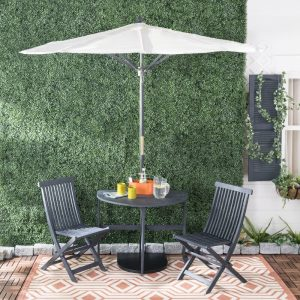 Southington Bistro Set #OutDoorFurniture #Patio #OutDoorLiving #OutDoorSpaces #PatioDining #Deck #Balcony