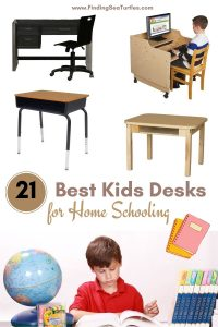 21 Best Kids Desks for Home Schooling #KidsDesk #StudyAtHome #Decor #HomeSchool #Homework