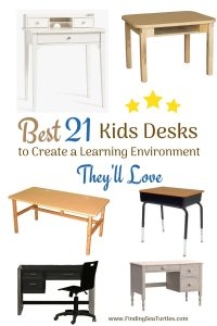 Best 21 Kids Desks to Create a Learning Environment They'll Love #KidsDesk #StudyAtHome #Decor #HomeSchool #Homework