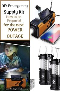 DIY Emergency Supply Kit How to be Prepared for the next Power Outage #Emergency #EmergencySupplies #EmergencySupplyKit #FEMA