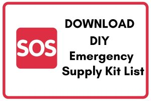 Download DIY Emergency Supply Kit List