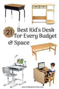 21 Best Kid's Desk for Every Budget Space #KidsDesk #StudyAtHome #Decor #HomeSchool #Homework