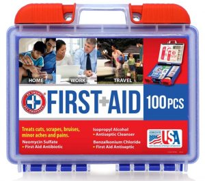 Build an Emergency Supply Kit Be Smart Get Prepared 100 Piece First Aid Kit #Emergency #EmergencySupplies #EmergencySupplyKit #FEMA