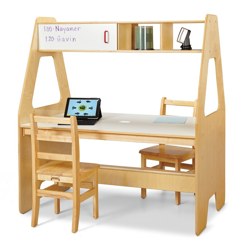 Best Kids Desks Jonti-Craft Computer Desk #KidsDesk #StudyAtHome #Decor #HomeSchool #Homework