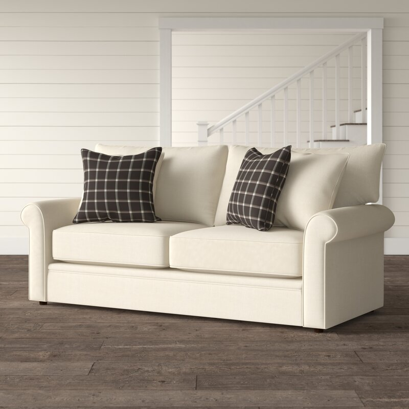 Accommodations for Two Bradfield Sofa Bed #SleeperSofa #OvernightGuests #GuestRoom #SofaBed #FamilySleepovers #CompanyIsComing