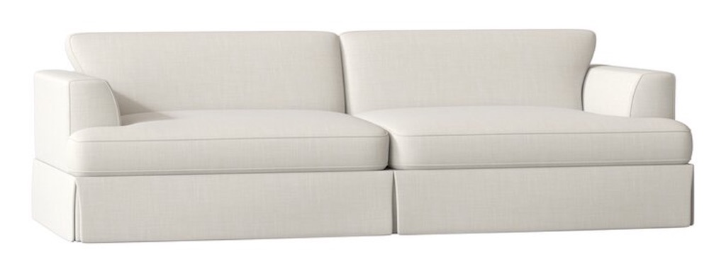 A Good Night's Rest with the Christina Recessed Arm Sofa Bed #SleeperSofa #OvernightGuests #GuestRoom #SofaBed #FamilySleepovers #CompanyIsComing