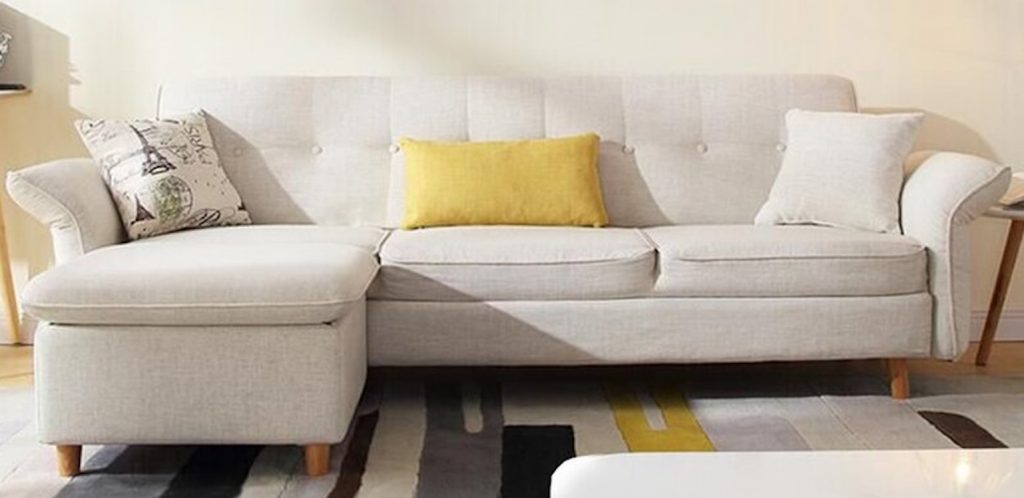 Overnight Guests Thurlow Flared Arm Sofa Bed #SleeperSofa #OvernightGuests #GuestRoom #SofaBed #FamilySleepovers #CompanyisComing