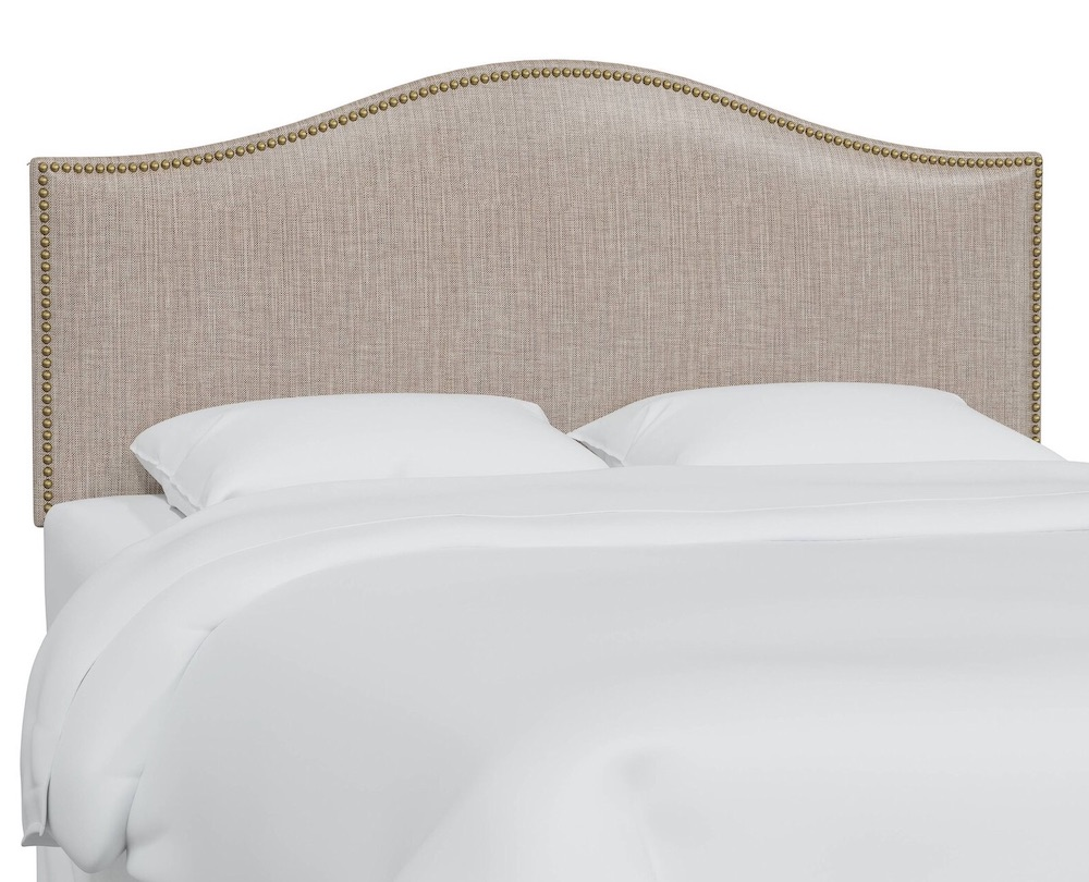 Best Upholstered Headboards Aubuchon Upholstered Panel Headboard #Headboards #UpholsteredHeadboards #GuestRoom #Bedroom #BedroomRefresh #BedroomUpgrade