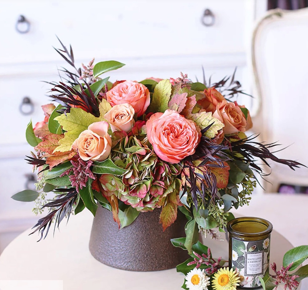 Best Online Thanksgiving Flowers Autumn Amour at Floom #flowers #flowerdelivery #bouquets #OnlineFlowers #FlowersOnline #AutumnFlowers #FallFlowers #ThanksgivingFlowers