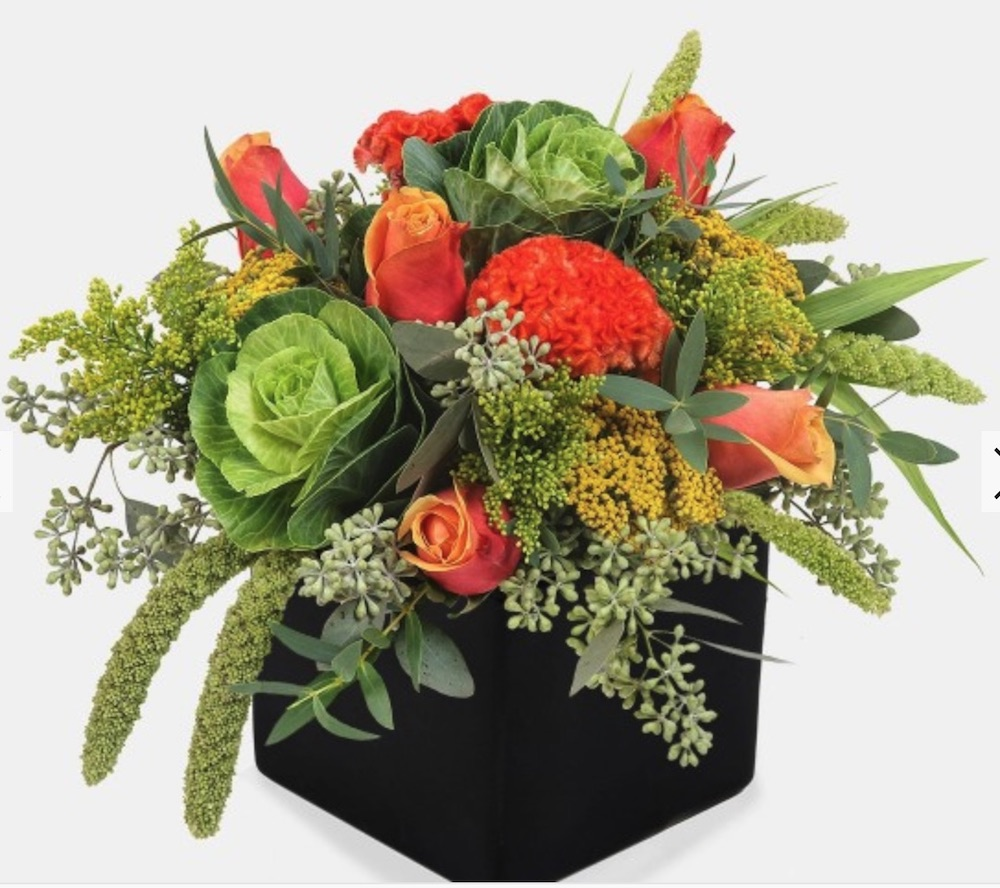 Give Thanks Autumn Palette by PlantShed #FreshFlowers #flowerdelivery #bouquets #OnlineFlowers #FlowersOnline #AutumnFlowers #FallFlowers #ThanksgivingFlowers