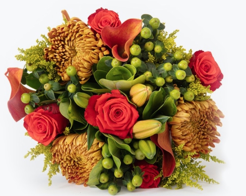 Best Online Thanksgiving Flowers Autumn Spice by Bloomsybox #flowers #flowerdelivery #bouquets #OnlineFlowers #FlowersOnline #AutumnFlowers #FallFlowers #ThanksgivingFlowers