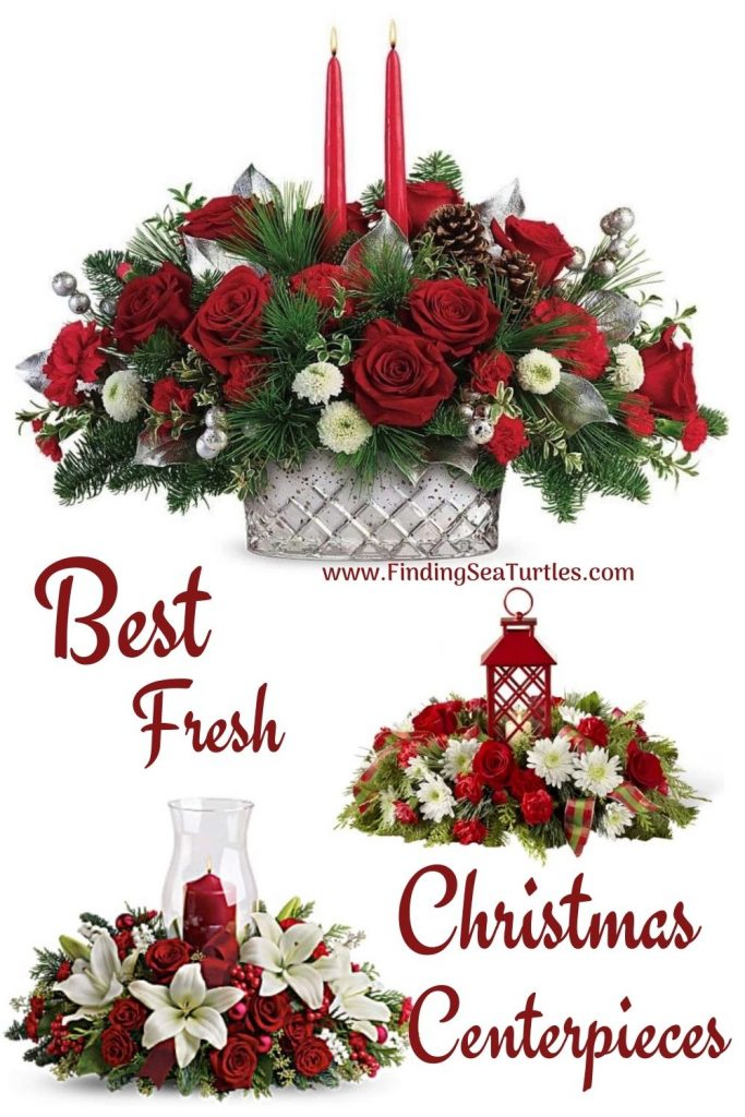 Christmas Flowers Best Fresh Christmas Centerpieces #FreshFlowers #flowerdelivery #Centerpiece #OnlineFlowers #FlowersOnline #ChristmasCenterpieces #ChristmasTableCenterpiece #ChristmasFlowers
