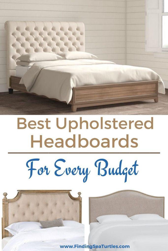 Best Upholstered Headboards #Headboards #UpholsteredHeadboards #GuestRoom #Bedroom #BedroomRefresh #BedroomUpgrade