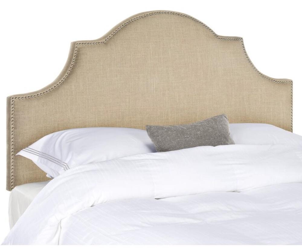 Best Upholstered Headboards Caswell Upholstered Panel Headboard #Headboards #UpholsteredHeadboards #GuestRoom #Bedroom #BedroomRefresh #BedroomUpgrade