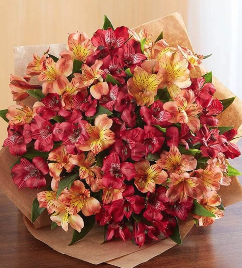 The Autumn Table Fall Peruvian Lilies by Florist com #FreshFlowers #flowerdelivery #bouquets #OnlineFlowers #FlowersOnline #AutumnFlowers #FallFlowers #ThanksgivingFlowers