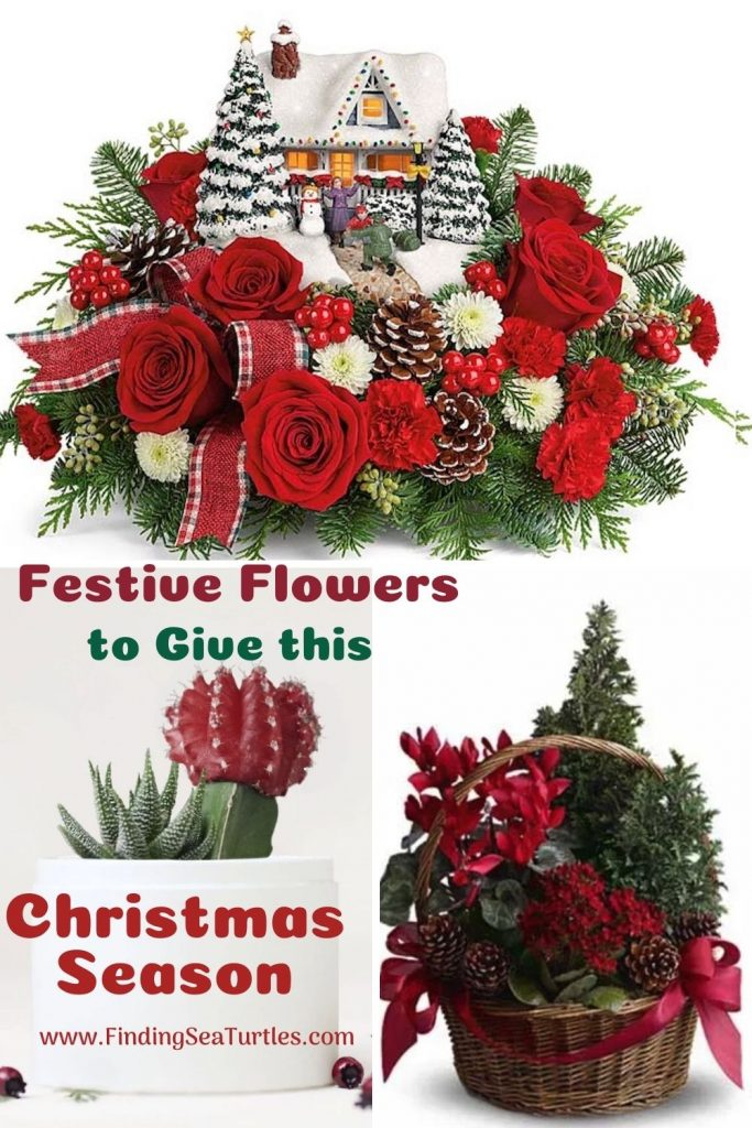 Festive Flowers to Give this Christmas Season #FreshFlowers #FlowerDelivery #bouquets #OnlineFlowers #FlowersOnline #Christmas #ChristmasFlowers #FestiveFlowers