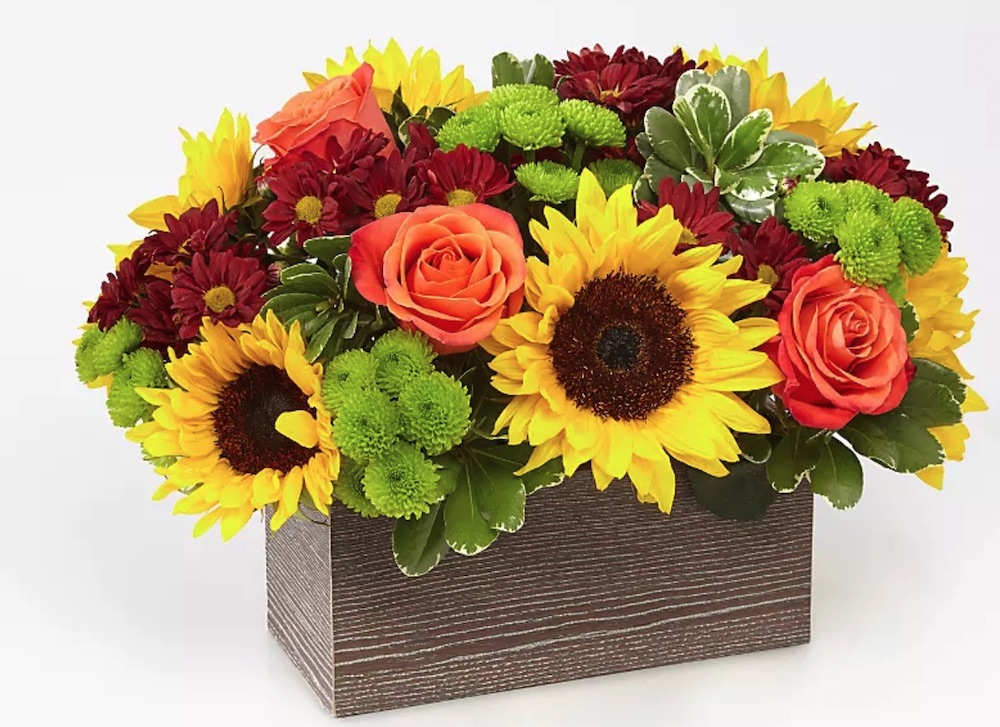 Celebrate and be Thankful Happy Harvest Garden by ProFlowers #flowers #flowerdelivery #bouquets #OnlineFlowers #FlowersOnline #AutumnFlowers #FallFlowers #ThanksgivingFlowers