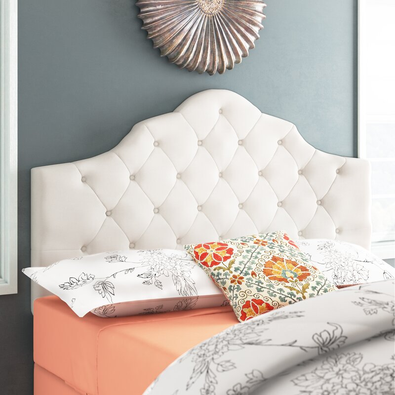 Best Upholstered Headboards Harbert Upholstered Panel Headboard #Headboards #UpholsteredHeadboards #GuestRoom #Bedroom #BedroomRefresh #BedroomUpgrade