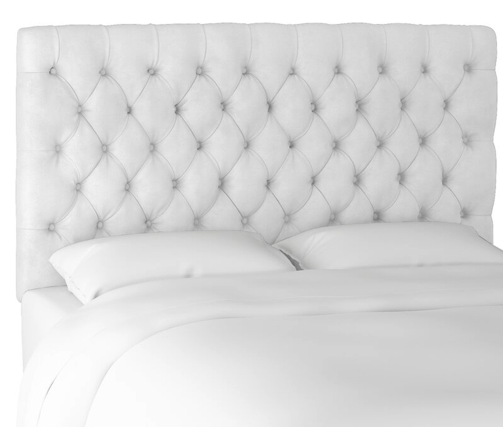 For Comfort and Style Jenkins Upholstered Panel Headboard #Headboards #UpholsteredHeadboards #GuestRoom #Bedroom #BedroomRefresh #BedroomUpgrade