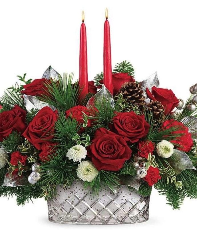Best Fresh Christmas Centerpieces