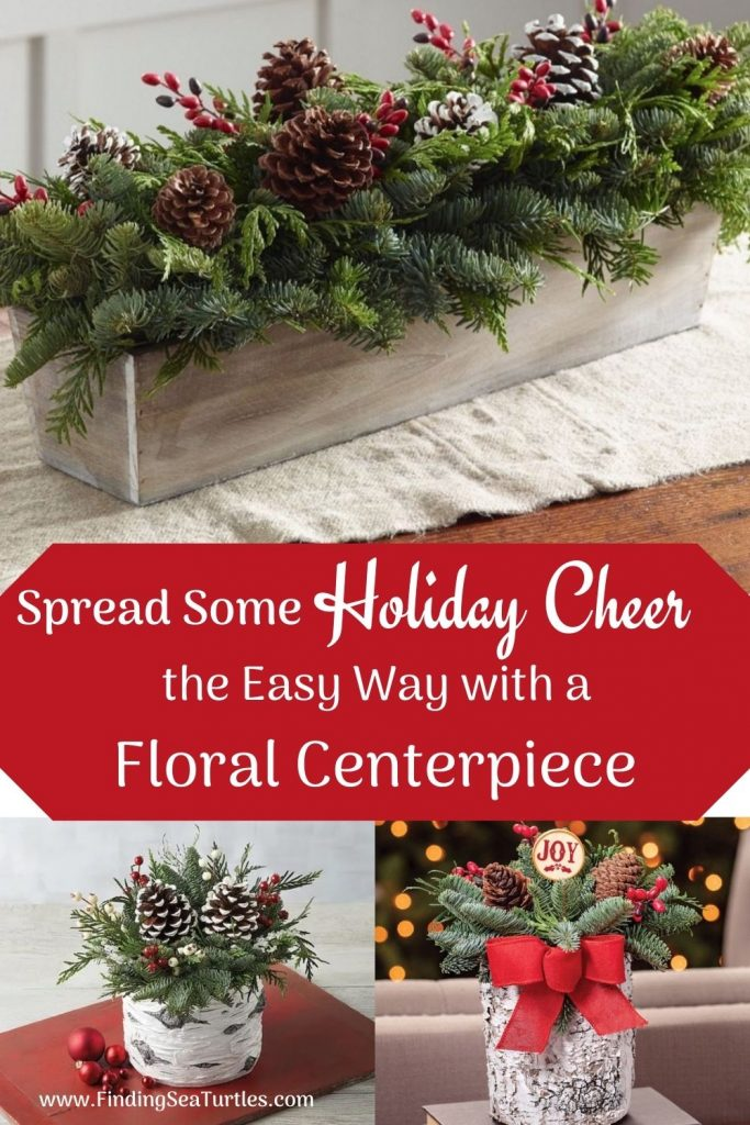Best Fresh Christmas Centerpieces Spread Some Holiday Cheer the Easy way with a Floral Centerpiece #FreshFlowers #flowerdelivery #Centerpiece #OnlineFlowers #FlowersOnline #ChristmasCenterpieces #ChristmasTableCenterpiece #ChristmasFlowers