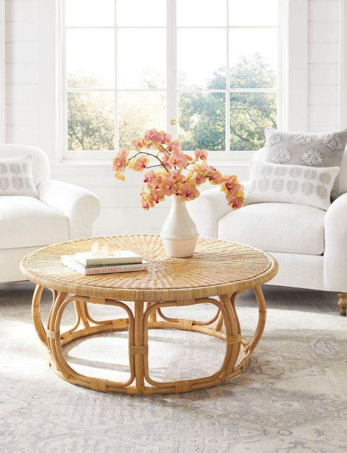24 Rattan Coffee Tables