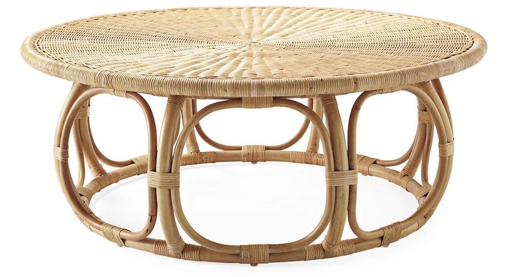 Rattan Coffee Tables Anguilla Rattan Coffee Table #CoffeeTable #Coastal #RattanCoffeeTables #BeachHome #CoastalDecor #CoastalFurniture #Seaside